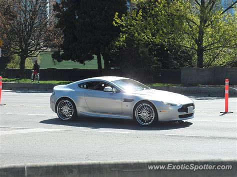 Aston Martin Canada by Aston Martin Vantage Spotted In Vancouver Canada On 04 12