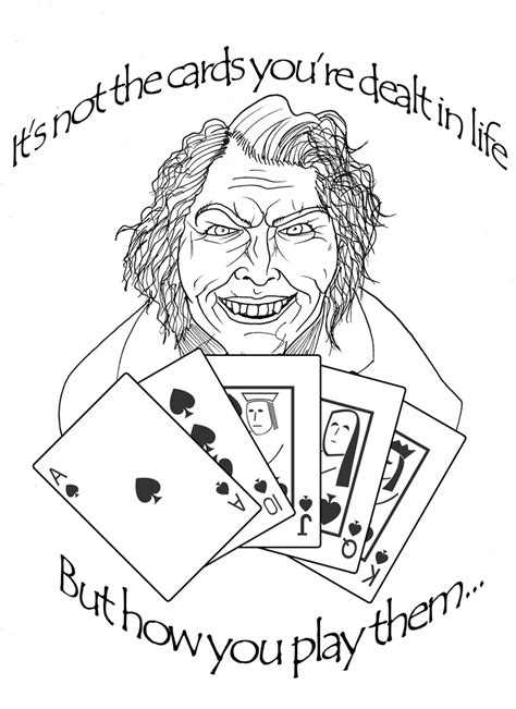 the you re dealt books its not the cards ur dealt by dayjohnson on deviantart