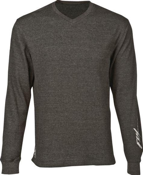 T Shirt 00928 Fly Rider fly racing mens sleeve thermal t shirt