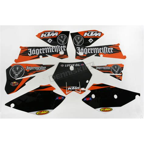 Jagermeister Ktm Graphics Lift Unlimited Ktm Jagermeister Graphics Kit 70217