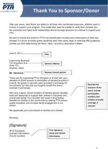thank you letter for sponsorship for excel pdf and word