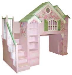 Loft Bed Playhouse Playhouse Loft Beds Traditional Houston By