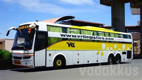 vrl vijayanand travels volvo b9r multi axle sleeper