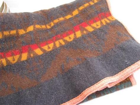 Vintage Pendleton Blanket Patterns by 1920s Vintage Pendleton Label Wool Indian C Blanket