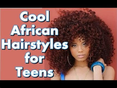 Hairstyles For School For Teenagers 2016 by 30 Cool Hairstyles For Black Hair