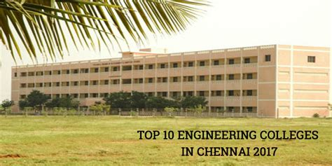 Mba In Information Technology Colleges In Chennai by Vmr Educational Consultancy Top 10 Engineering Colleges