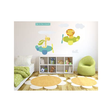 clouds wall stickers in the clouds wall sticker littleprints