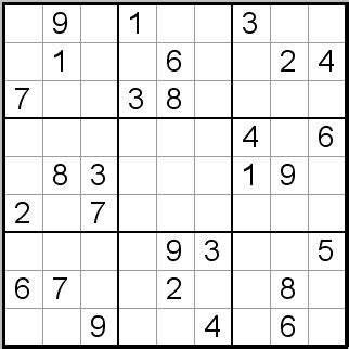 sudoku puzzles easy 73 76 number squares print