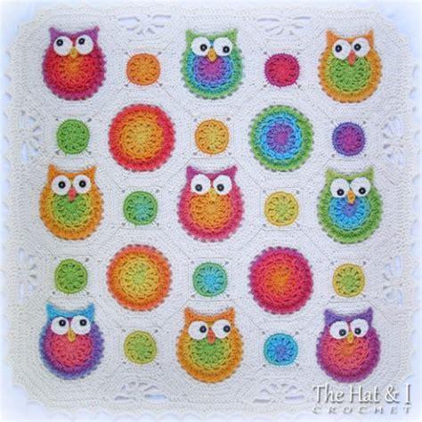 Crochet Owl Blanket Free Pattern by Crochet Owl Pattern Blanket Patterns Ideas Tutorials