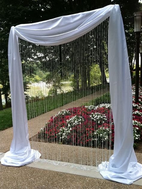 Wedding Arch Pvc by You Can Hardly Tell It Is Made Of Pvc Pipe Pipe And Drape