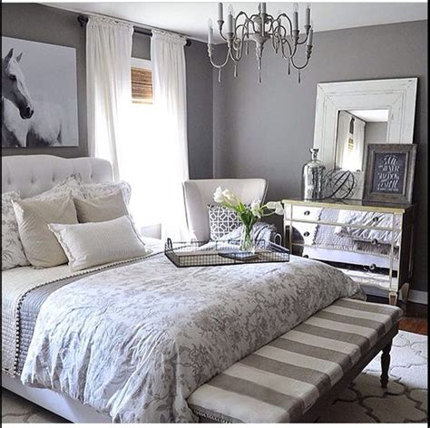 grey and white bedroom ideas pinterest