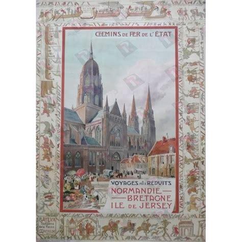 Tapisserie Reine Mathilde by Affiche Originale Voyages 224 Prix R 233 Duits Bayeux Tapisserie