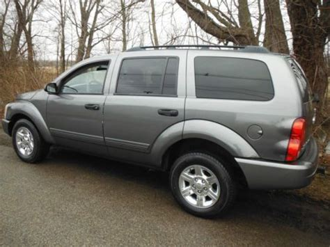 find used 2005 dodge durango slt 4x4 4door 3rows seats 4 7liter 8cyl w airconditioning in sussex