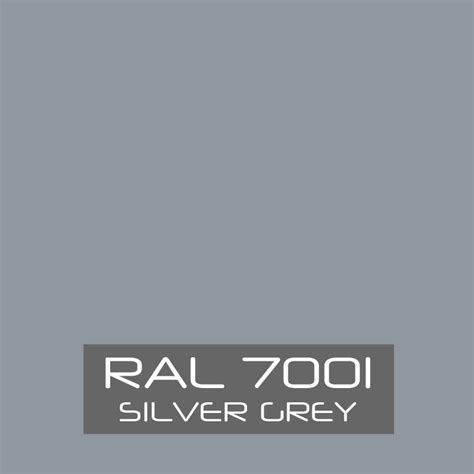 ral 7001 paint from 163 10 99
