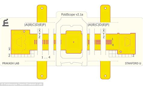 How To Make A Microscope Out Of Paper - stanford engineers design world s cheapest origami microscope