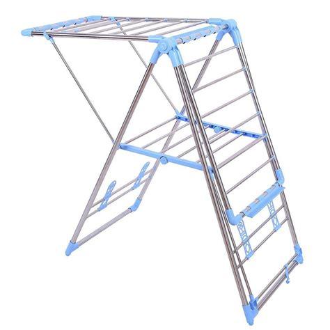 Outdoor Clothes Hanger Rack by New Indoor Outdoor Drying Rack Stainless Steel Shelf