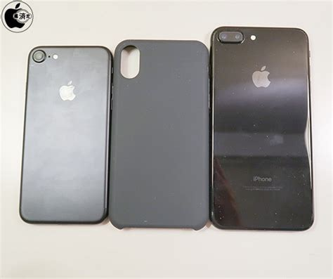 iphone 8 compared to iphone 7 offers clear picture of size difference macrumors