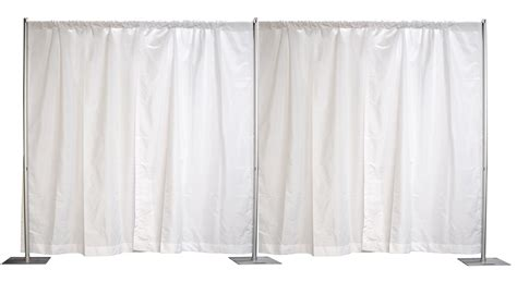 piping drapes crowd control center 7x20 inches pipe drapes step and