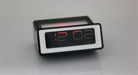 6 84 living room bedside led alarm clock w temperature