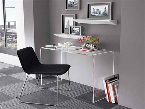 furniture modern small desk for small spaces office desk
