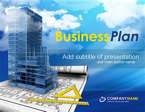 Construction Powerpoint Presentation Template Best Website Templates Powerpoint Templates Building Construction
