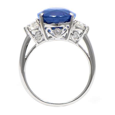 Blue Sapphire Ceylon Set In Ring ceylon blue sapphire ring in 18k white gold wixon jewelers