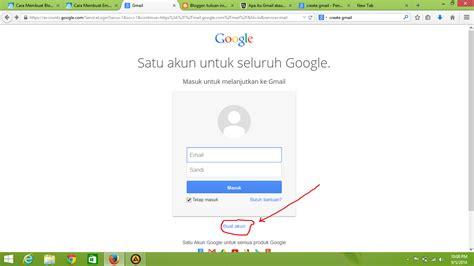 cara membuat akun gmail pada android cara membuat akun gmail kotak katik android