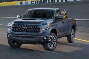 Future Toyota Tundra 2018 Toyota Tundra Sequoia Refreshed Debut New Trd Sport