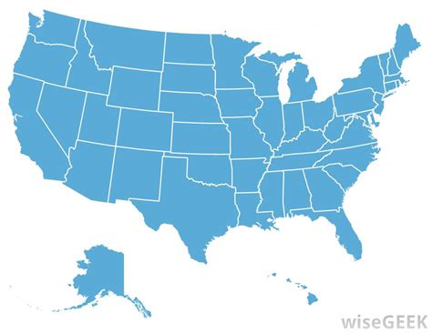 map of usa states only what is the only state in the u s that borders five