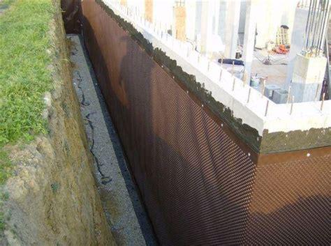 impermeabilizzazione muri interni impermeabilizzazione muri controterra tecniche