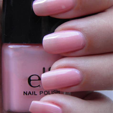 light pink nail polish creative nail art elf nail polish review