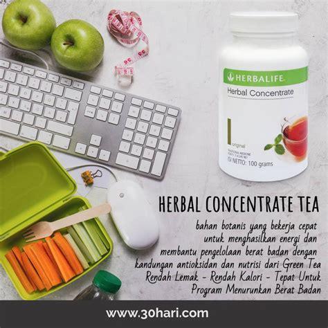 Dan Teh Herbalife thermo tea teh pembakar lemak herbalife