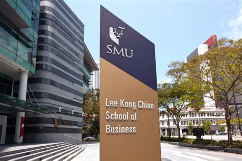 Smu Mba Program Singapore by Smu Kong Chian School Of Business Ranks Well In The