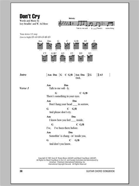 Heart Of Life Guitar Chords