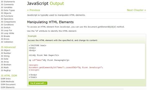 tutorial javascript in html best free sites for learning how to write code cnet