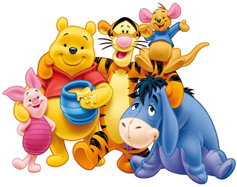 imagenes de winnie pooh sin fondo transparente winnie the pooh y sus amigos winnie the