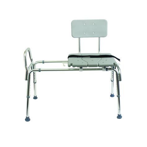 transfer bench shower chair duro med heavy duty sliding transfer bench shower chair