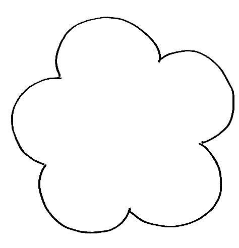 shape outline pattern flower outline pattern clipart best
