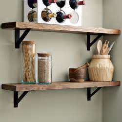 wall shelves for kitchen salvaged wood shelf traditional display and wall shelves by west elm
