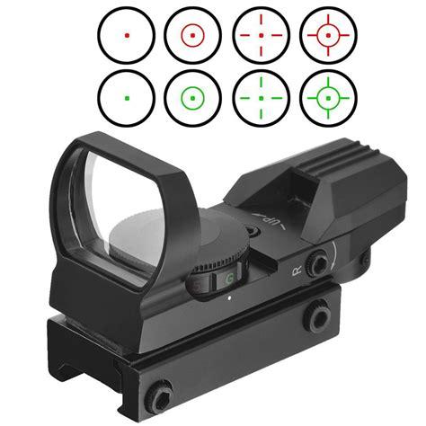 Reflex Sight Dot Scope 20mm Airsoft ᗖ20mm rail riflescope airsoft optics optics scope holographic ᗗ dot sight