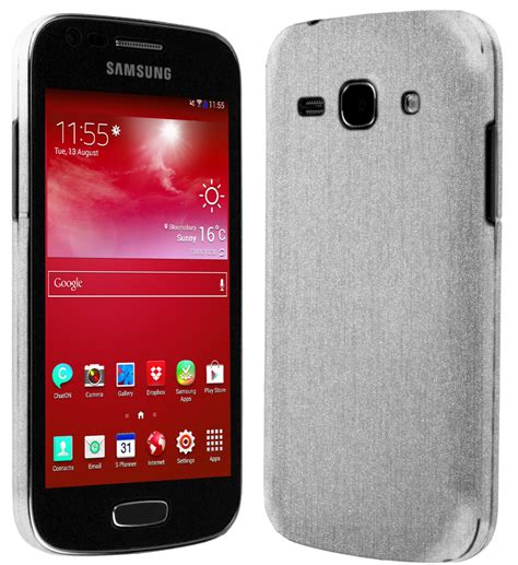 Samsung Ace 3 Gt7270 skinomi techskin samsung galaxy ace 3 gt s7270 brushed aluminum skin protector