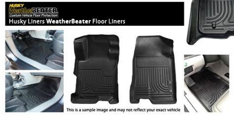 Husky Liner Floor Mats Best Price by 08 12 Dodge Grand Caravan Weatherbeater Front Floor Mats