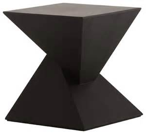 giza side table black oak modern side tables and end