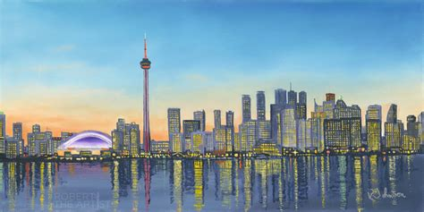 Phone Lookup Toronto Toronto Skyline Robert The Artist