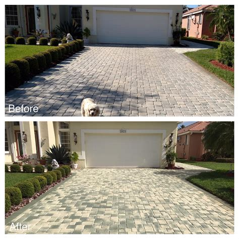 paver patio sealer paver sealer in florida the paver co