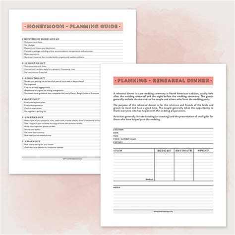 Wedding Planner Guide Pdf by Wedding Planning Guide Choice Image Wedding Dress