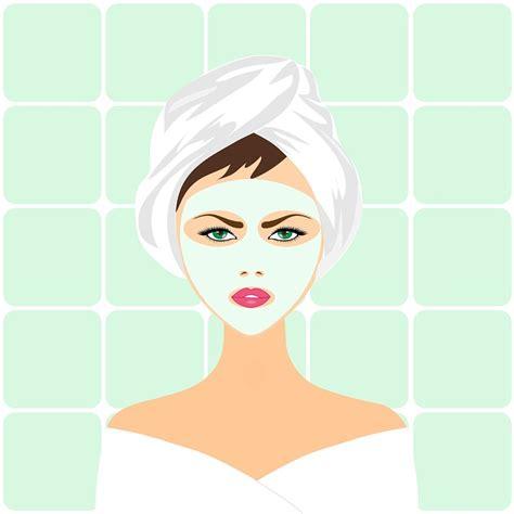 Images Flowers Petals Mask Masker Wajah illustration gratuite soin de beaut 233 masque spa