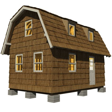 building a small house small gambrel roof house plans