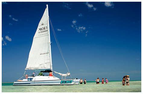catamaran echo catamaran echo key west dolphins snorkeling chagne