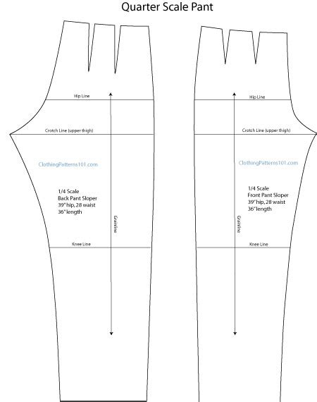pattern drafting notches how to use quarter scale patterns in design